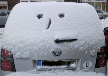 Washing Your Car in Winter